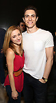 Christy Altomare and Derek Klena   attends Actors' Equity Broadway Opening Night Gypsy Robe Ceremony honoring Shina Ann Morris for  'Anastasia' at the Broadhurst Theatre on April 24, 2017 in New York City.