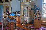 Cerkiew Zaśnięcia Najświętszej Marii Panny w Wojnowie, fragment wnętrza