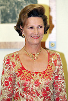 King Harald, and Queen Sonja of Norway, State Visit to Lithuania, Banquet at The Presidents Palace in Vilnius, Lithuania.