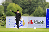 Mark Flindt Haastrup (DEN) tees off the 4th tee during Sunday's Final Round of the Northern Ireland Open 2018 presented by Modest Golf held at Galgorm Castle Golf Club, Ballymena, Northern Ireland. 19th August 2018.<br /> Picture: Eoin Clarke | Golffile<br /> <br /> <br /> All photos usage must carry mandatory copyright credit (&copy; Golffile | Eoin Clarke)