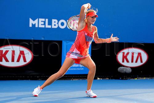 22.01.2016. Melbourne Park, Melbourne, Australia, Australian Open Tennis Championships.  Kristina Mladenovic (FRA)
