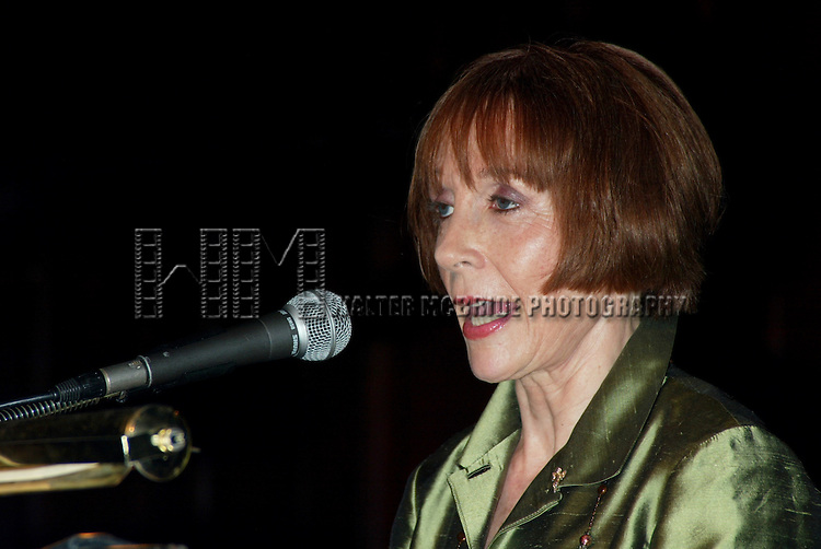 Patricia Elliott<br /> Attending the Broadway Theater Institute 2003 Awards for Excellence held at The Players Club <br /> on Gramercy Park in New York City.<br /> September 15, 2003