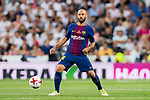 Javier Alejandro Mascherano of FC Barcelona in action during their Supercopa de Espana Final 2nd Leg match between Real Madrid and FC Barcelona at the Estadio Santiago Bernabeu on 16 August 2017 in Madrid, Spain. Photo by Diego Gonzalez Souto / Power Sport Images