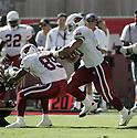 Obafemi Ayanbadejo during the Cardinals v. Saints football game on October 3, 2004.Cardinals win 34-10..Dilip Vishwanat / SportPics