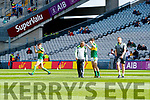 Kerry Manager Peter Keane before the Kerry v Derry in the All-Ireland Minor Footballl Final in Croke Park on Sunday.