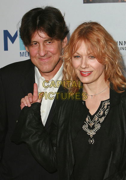 CAMERON CROWE & NANCY WILSON.Mentor LA's Promise Gala Honoring Tom Cruise held at 20th Century Fox Studios,  Los Angeles, California, USA..March 22nd, 2007.half length black pointing.CAP/ADM/CH.©Charles Harris/AdMedia/Capital Pictures