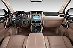 Stock photo of straight dashboard view of 2018 Lexus GX 460 5 Door SUV Dashboard