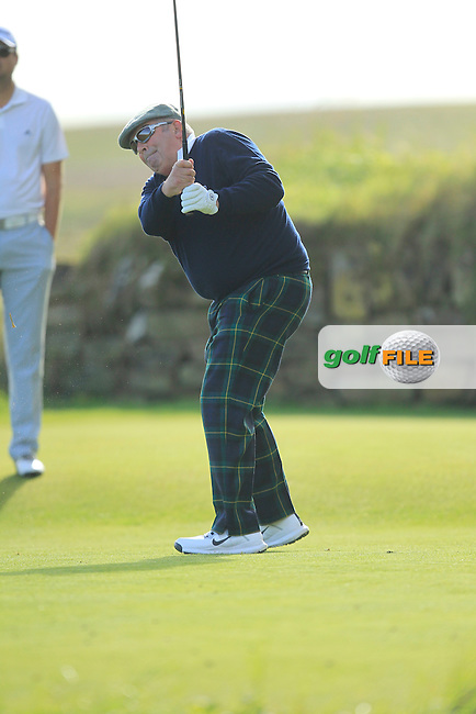Douglas Connon during Round 1of the Alfred Dunhill Links Championship at Kingsbarns Golf Club on Thursday 26th September 2013.<br /> Picture:  Thos Caffrey / www.golffile.ie
