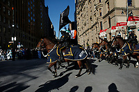 NEW YORK, NY - NOVEMBER 22: NYPD officers patrols during the 92nd annual Macy's Thanksgiving Day Parade on November 22, 2018 in New York City.(Photo by Kena Betancur/VIEWpress)