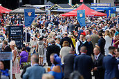 14th September 2017, Doncaster Racecourse, Doncaster, England; The William Hill St Ledger Festival, DFS Ladies Day; Large Crowds at Ladies day
