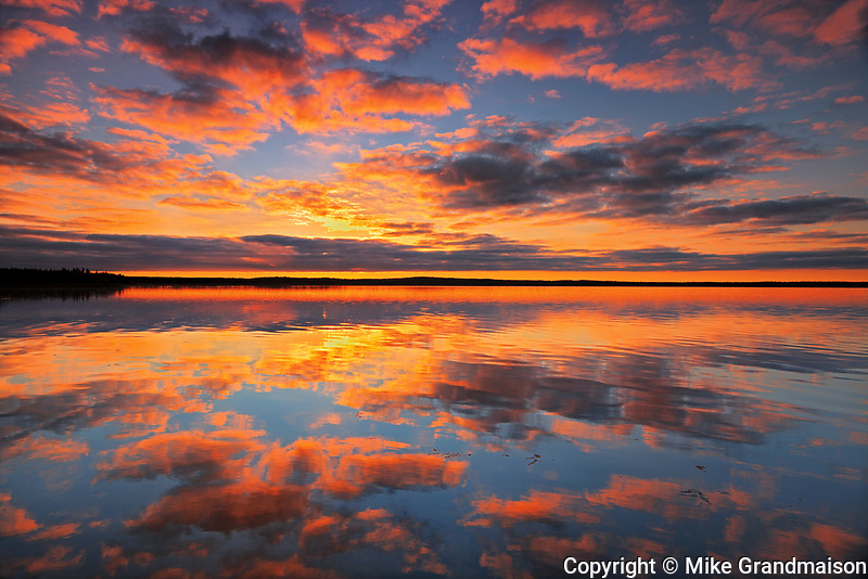 Morning reflection in Namekus Lake<br />