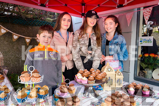 Jack Diver, Sarah Guiheen, Amy Rose Cazenove and Simone Murphy,  pictured at the Dingle Food Festival on Saturday afternoon last.