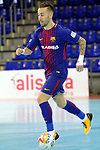 League LNFS 2017/2018 - Game 10.<br /> FC Barcelona Lassa vs CA Osasuna Magna: 3-3.<br /> Rivillos.