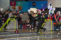 Pictured: Lee Trundle during the Swansea player and fans bowling evening at Tenpin Swansea, Swansea, Wales, UK. Wednesday 22 January 2020