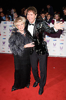 LONDON, UK. October 31, 2016: Gloria Hunniford &amp; Sir Cliff Richard at the Pride of Britain Awards 2016 at the Grosvenor House Hotel, London.<br /> Picture: Steve Vas/Featureflash/SilverHub 0208 004 5359/ 07711 972644 Editors@silverhubmedia.com