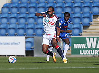Bolton Wanderers' Nathan Delfouneso<br /> <br /> Photographer Rob Newell/CameraSport<br /> <br /> The EFL Sky Bet League Two - Colchester United v Bolton Wanderers - Saturday 19th September 2020 - Colchester Community Stadium - Colchester<br /> <br /> World Copyright © 2020 CameraSport. All rights reserved. 43 Linden Ave. Countesthorpe. Leicester. England. LE8 5PG - Tel: +44 (0) 116 277 4147 - admin@camerasport.com - www.camerasport.com