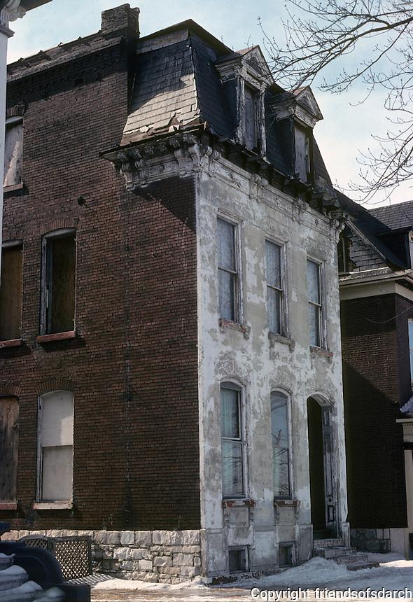 St. Louis: House near Lafayette Park. Photo '78.