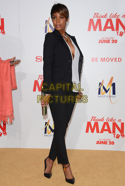 09 June 2014 - Hollywood, California - Kelly Rowland. Arrivals for the Los Angeles premiere of Screen Gems' &quot;Think Like A Man Too&quot; at the TCL Chinese Theater in Hollywood, Ca.  <br /> CAP/ADM/BT<br /> &copy;Birdie Thompson/AdMedia/Capital Pictures