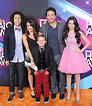 Scott Baio and the cast of See Dad Run at the TeenNick HALO Awards held at The Palladium in Hollywood, California on November 17,2012                                                                               © 2012 Hollywood Press Agency