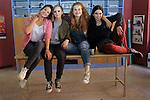 Visita Rodatge Merli. 3a temporada.<br /> Julia Creus, Laia Manzanares, Elisabet Casanovas &amp; Candela Anton.