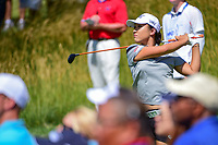 Lydia Ko (NZL) watches her tee shot on 15 during Saturday's round 3 of the 2017 KPMG Women's PGA Championship, at Olympia Fields Country Club, Olympia Fields, Illinois. 7/1/2017.<br /> Picture: Golffile | Ken Murray<br /> <br /> <br /> All photo usage must carry mandatory copyright credit (&copy; Golffile | Ken Murray)
