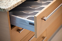 Kitchen Drawer with Utensil Organizer