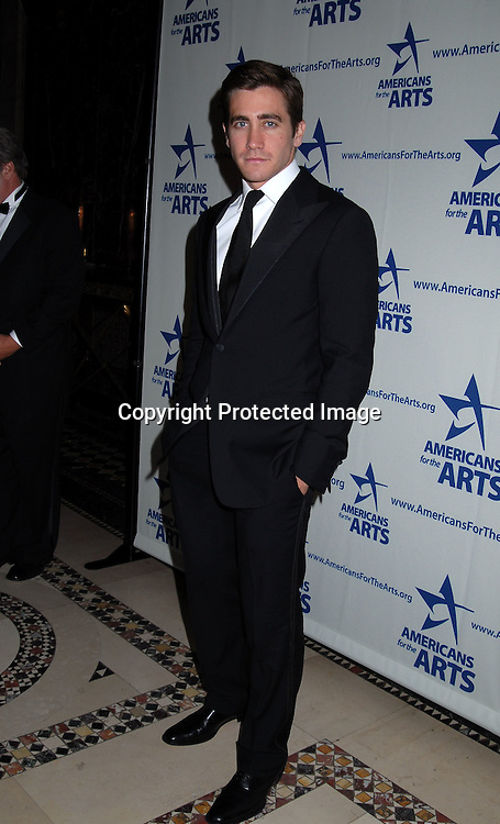 Jake Gyllenhaal..at The Americans for the Arts National Arts Awards on ..Monday October 16, 2006 at Cipriani 42nd Street. ..Jake Gyllenhaal, Aretha Franklin, Kitty Carlisle Hart and ..Jeff Koons were honored. ..Robin Platzer, Twin Images