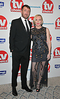 Ralph Ineson and Ali Ineson at the TV Choice Awards 2018, The Dorchester Hotel, Park Lane, London, England, UK, on Monday 10 September 2018.<br /> CAP/CAN<br /> &copy;CAN/Capital Pictures