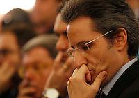 NAPOLI IL GOVERNO PRESENTA IL PROGETTO POMPEI .NELLA FOTO STEFANO CALDORO.FOTO CIRO DE LUCA