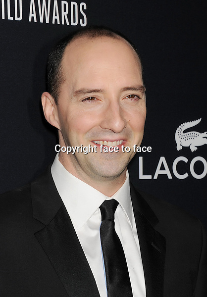 BEVERLY HILLS, CA- FEBRUARY 22: Actor Tony Hale arrives at the 16th Costume Designers Guild Awards at The Beverly Hilton Hotel on February 22, 2014 in Beverly Hills, California.<br />