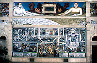Detroit:  Detroit Industry, South Wall 1932-33. Diego M. Rivera 1886-1957.   Reference only.
