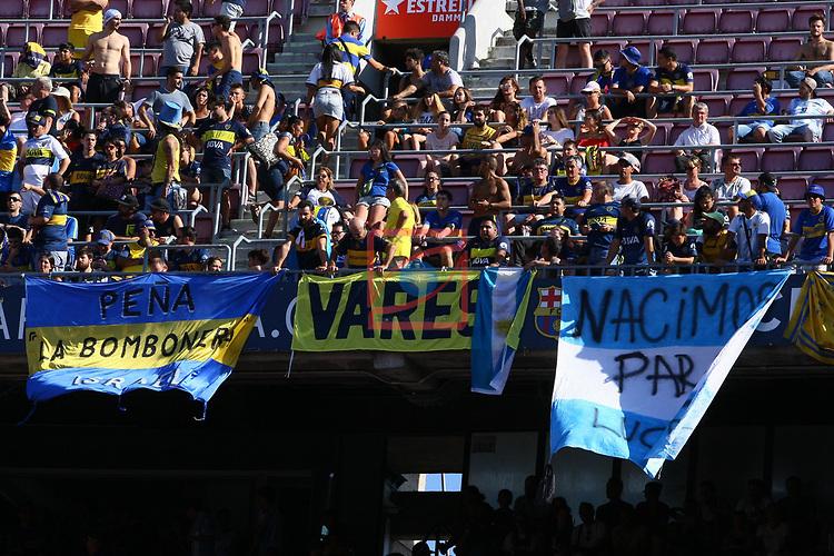 53e Trofeu Joan Gamper.<br /> FC Barcelona vs Club Atletico Boca Juniors: 3-0.