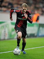 FUSSBALL   CHAMPIONS LEAGUE   SAISON 2011/2012  Bayer 04 Leverkusen - FC Valencia           19.10.2011 Andre SCHUERRLE (Bayer 04 Leverkusen) Einzelaktion am Ball
