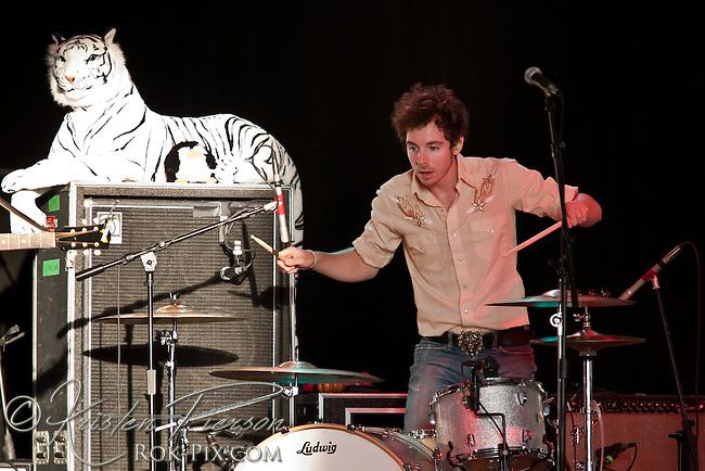 Kingsley Flood performing in Newport, RI on August 11, 2011