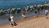South Coast Triathlon 2012 held at Seaford, East Sussex