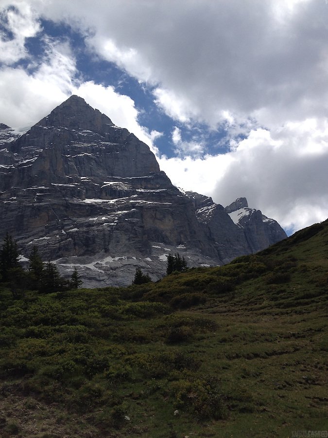 The marvelous scenery of Grosse Scheidegg, between Meiringen and Grindelwald, Switzerland