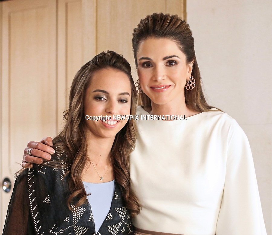 25.05.2017; Amman, Jordan: QUEEN RANIA AND PRINCESS SALMA<br /> attend the national celebrations on the occasion of the 71st anniversary of Jordan's Independence Day at Raghadan Palace, Amman<br /> Mandatory Photo Credit: &copy;RHC/NEWSPIX INTERNATIONAL<br /> <br /> IMMEDIATE CONFIRMATION OF USAGE REQUIRED:<br /> Newspix International, 31 Chinnery Hill, Bishop's Stortford, ENGLAND CM23 3PS<br /> Tel:+441279 324672  ; Fax: +441279656877<br /> Mobile:  0777568 1153<br /> e-mail: info@newspixinternational.co.uk<br /> &ldquo;All Fees Payable To Newspix International&rdquo;