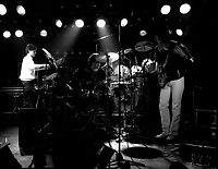 Undated File Photo circa 1983 - Montreal, Quebec, CANADA - UZEB in concert