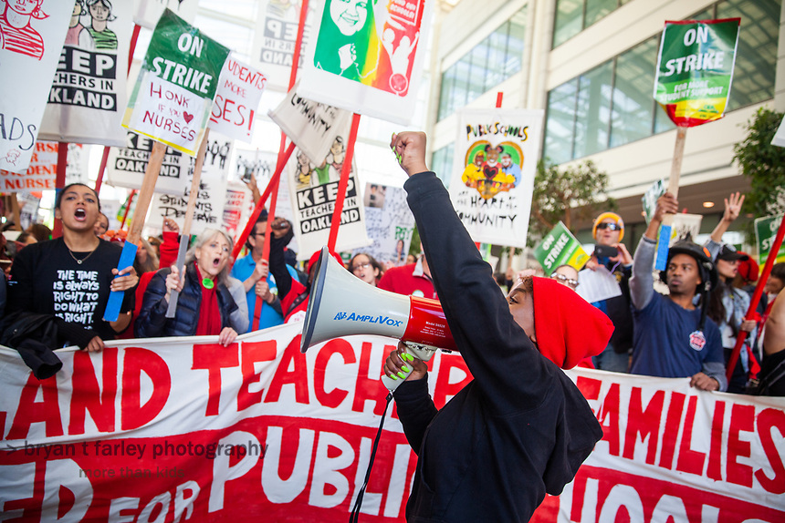 Oakland Teachers Strike Day 6