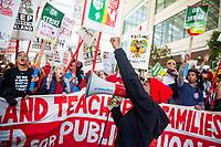 Oakland Teachers Strike Day 6