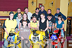 At the launch of the Athea motorcycle road race in Athea on Thursday night were.Darragh Murph, Mountcollins,.Andrew Murphy, Mountcollins, Liz Coughlan, Ardagh, Martin Murphy, Mount Collins (Madd Racing) Valerie Cremin, Killeedy, Timmy Shehan Athea, Aisling Geoghan, Templeglantine..Dave Broderick, Abbeyfeale, Paul Greaney Rathkeale, Pat Hays Athea, Conor Harnett Limerick (P.R.O. Madd Racing) Pa Moore Athea, Bertie Greaney Abbeyfeale, at the back is Mike Sheehan,.