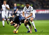 Gregoire Defrel-Radja Nainggolan <br /> Milano 17-2-2019 Stadio Giuseppe Meazza in San Siro Football Serie A 2018/2019 FC Internazionale  - UC Sampdoria Foto Image Sport / Insidefoto