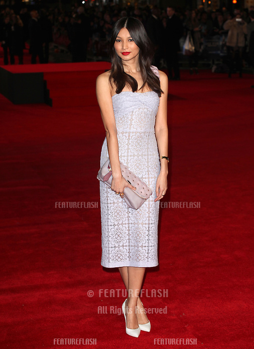 Gemma Chan arriving for the UK Premiere of Jack Ryan, at Vue Leicester Square, London. 20/01/2014 Picture by: Alexandra Glen / Featureflash