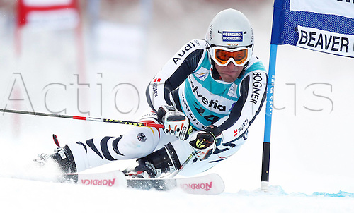 04.12.2011. Beaver Creek Colorado USA Ski Alpine FIS World Cup Giant slalom the men Picture shows Fritz Dopfer ger