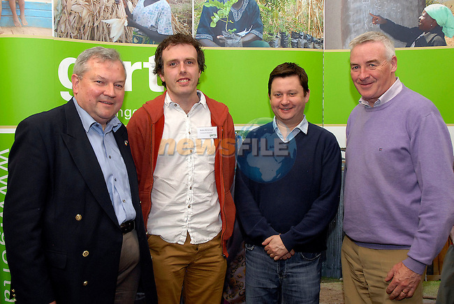 Pictured at the Gorta Making Hunger History: Local Heroes in faraway places seminar (from left) Gorta CEO Brian Hanratty, Bobby McCormack of Development Perspectives, Denis Cummins President of DKIT, and Sean Corrigan a member of the Gorta Council.