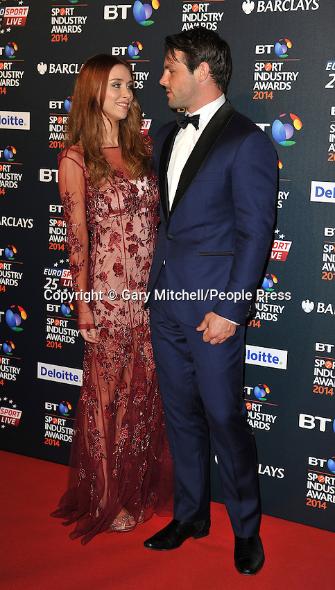 Una Foden _ Ben Foden attends the BT Sport Industry Awards at Battersea Evolution on May 8, 2014 in London, England