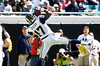 October 18, 2009:    St. Louis Rams wide receiver Donnie Avery (17) catches a first quarter touchdown pass during first half action between the NFC West St. Louis Rams and AFC South Jacksonville Jaguars at Jacksonville Municipal Stadium in Jacksonville, Florida............
