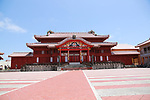 FILE PHOTO : An view of Main hall (Seiden) of the Shuri Castle (Shurijo) in Naha, Okinawa, Japan on April 26, 2014. A fire broke out at the World Heritage listed site on the morning of October 31, 2019.  (Photo by Rodrigo Reyes Marin/AFLO)