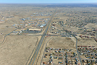 Aerial of Pueblo West, Highway 50 and McCulloch Blvd.  Dec 1, 2012