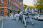 Horse and Carriage Rides, Jim Thorpe Fall Foliage Celebration, Jim Thorpe, Carbon Co., PA